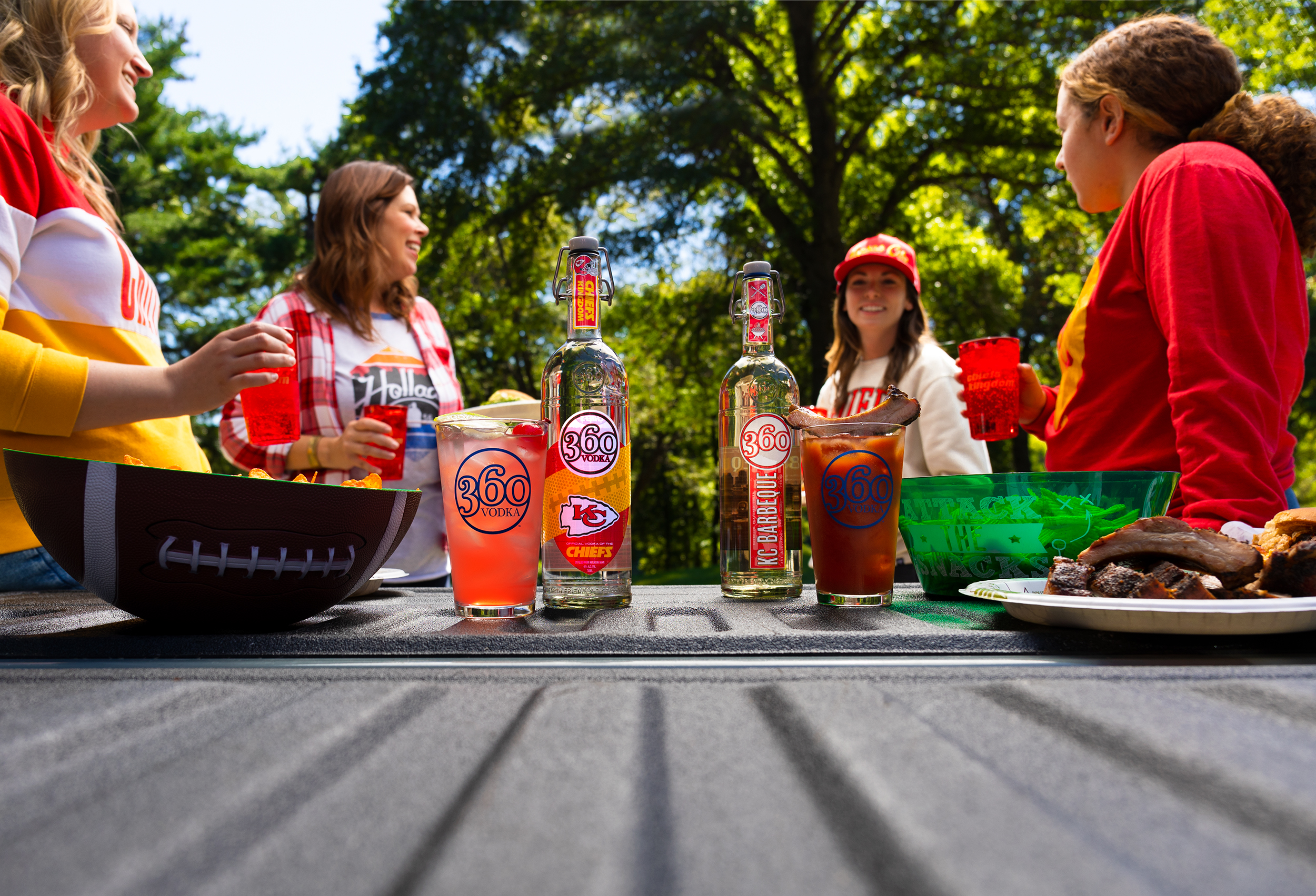 Tailgate Cocktails for Chiefs Kingdom from Holladay Distillery